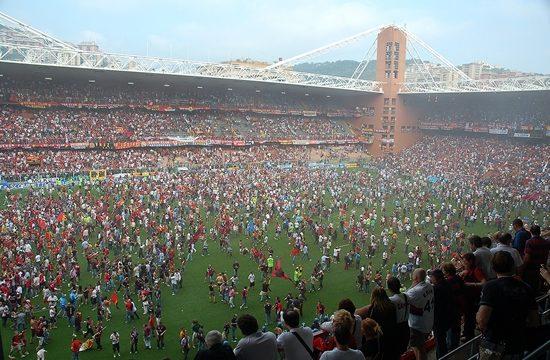 Partite Memorabili, Genoa-Napoli, uno spot per lo sport.
