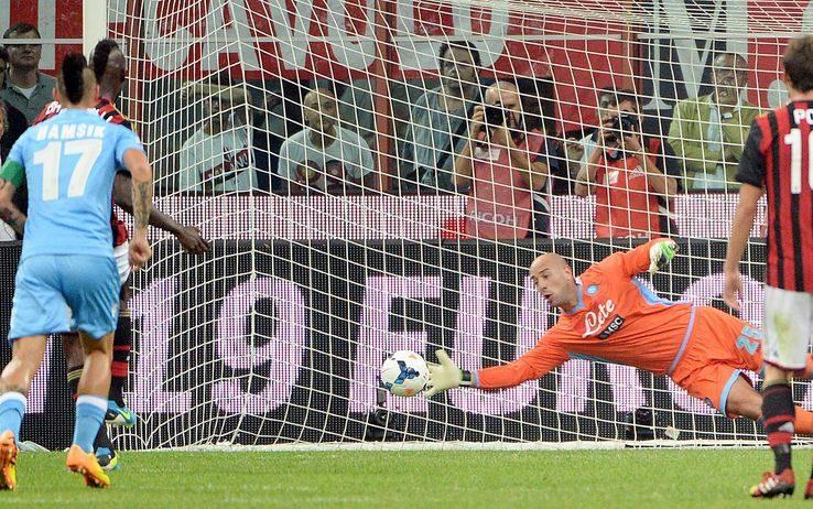 Partite Memorabili, Milan-Napoli 1-2: lo show di Pepe Reina